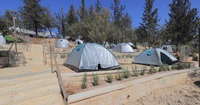 "Jerusalém inaugurou seu primeiro ""camping urbano"""