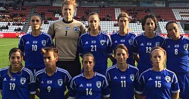 Futebol feminino israelense terá orçamento igual ao masculino