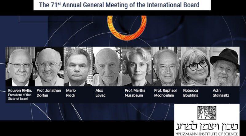 Brasileiro recebe título do Instituto Weizmann