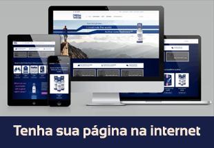 Tenha sua página na internet