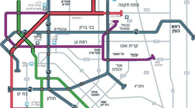 Metrô de Tel Aviv deve transportar dois milhões de passageiros por dia
