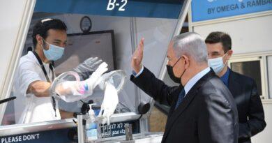 teste rápido aeroporto israel