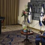 Presidente Rivlin Israel medalha