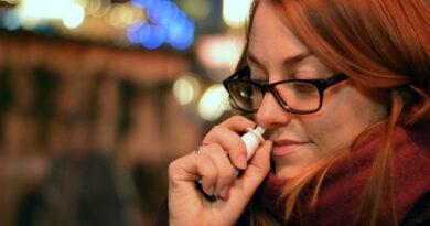 Spray nasal para prevenir infecção