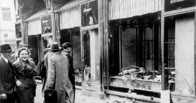 Nova exibição no Yad Vashem lembra a Kristallnacht