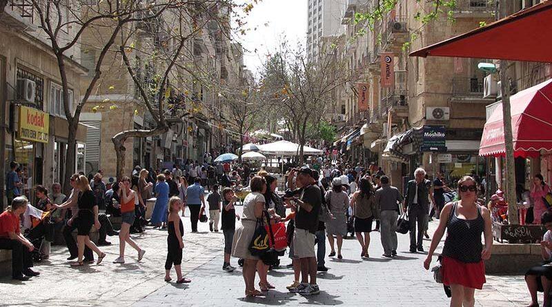 População de Israel aumentou 1.7%