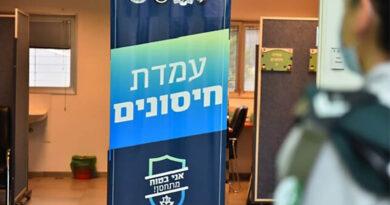 Exército israelense inicia vacinação