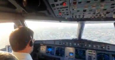 Primieiro voo comercial Israel Dubai