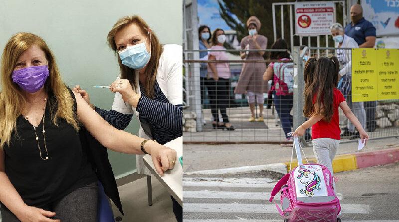 Vacinação 24 horas em Israel