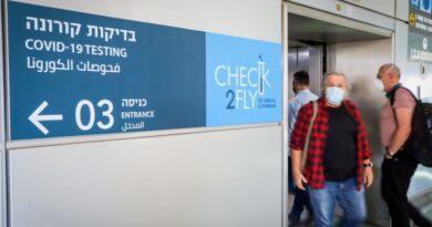 Teste PCR para entrar em Israel