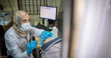 responsável por fornecer vacina aos palestinos