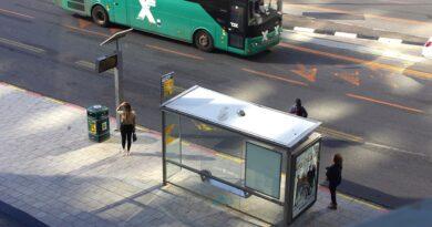 Tarifas de ônibus reduzidas em Israel