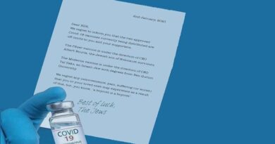 "Carta ao BDS ""lamenta"" o boicote"