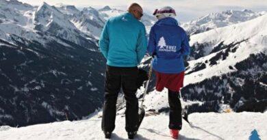 Esquiadora faz história diante da adversidade