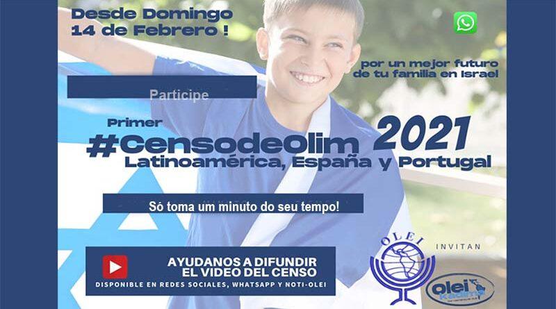 Primeiro censo de Olim Latinos
