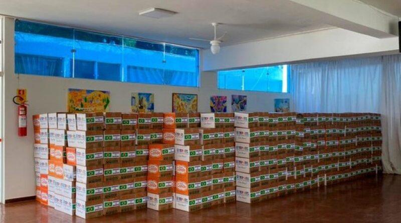 Israel doa 1.400 cestas ao Amazonas