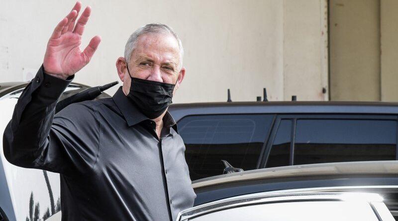 Gantz pede para não apoiar Netanyahu
