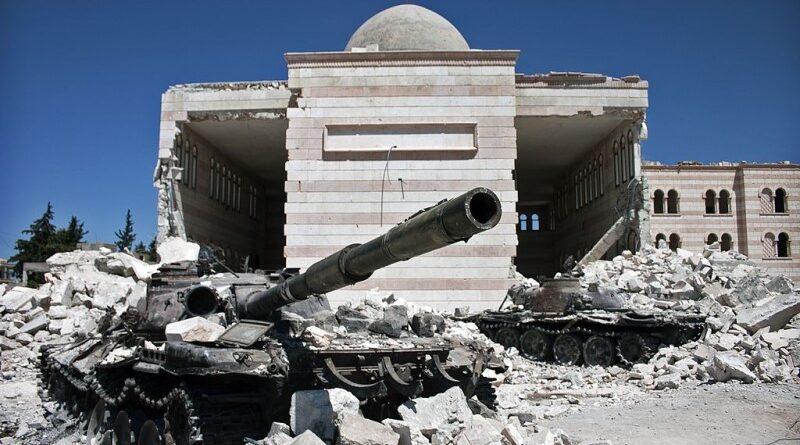 10 anos de guerra civil na Síria