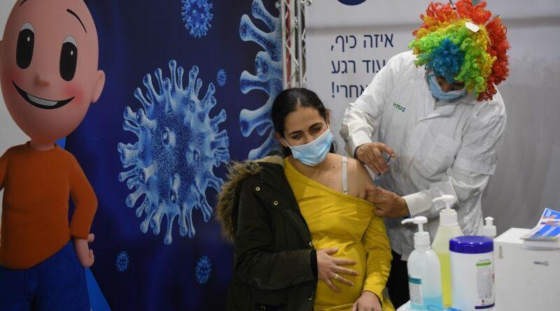 Bebês de mães vacinadas têm anticorpos