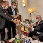 Netanyahu se reúne com chanceler brasileiro