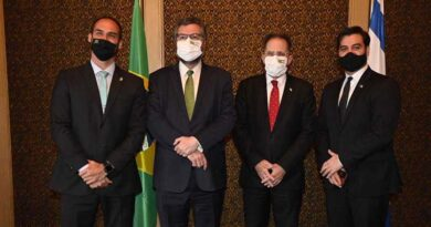 Comitiva brasileira encerra viagem