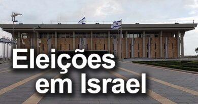 Israel vai às urnas novamente
