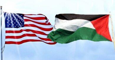 laços entre os Estados Unidos e os palestinos