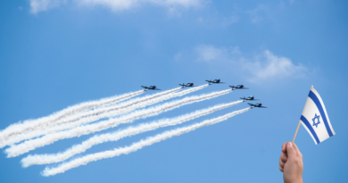 Israel de olho no show aéreo