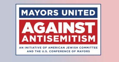 Prefeitos americanos contra antissemitismo