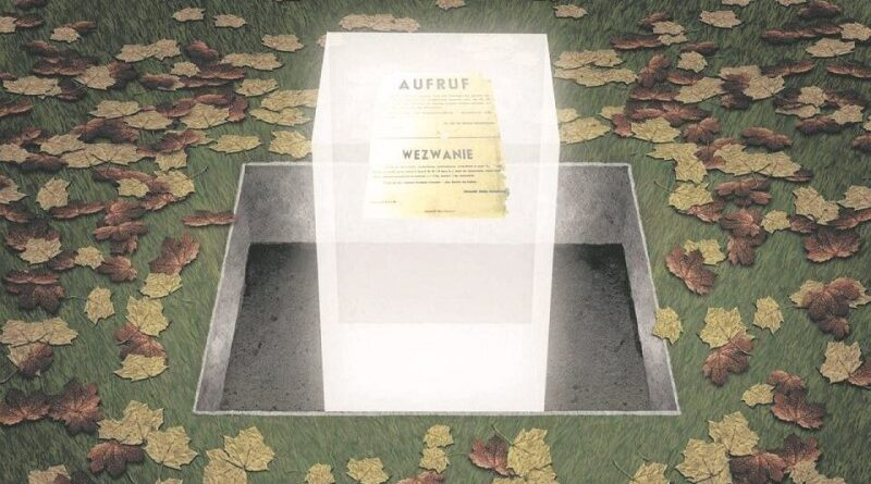Monumento homenageia arquivos do Gueto