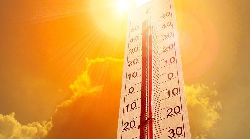 Onda de calor atingirá seu pico hoje