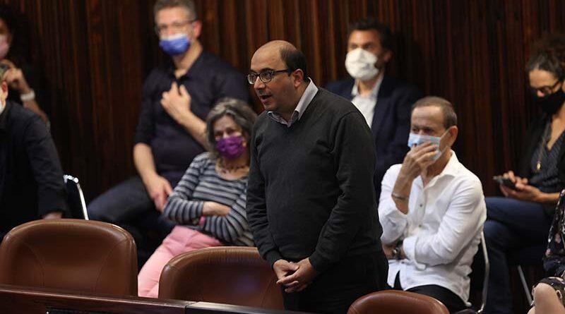 Parlamentares árabes não juram lealdade