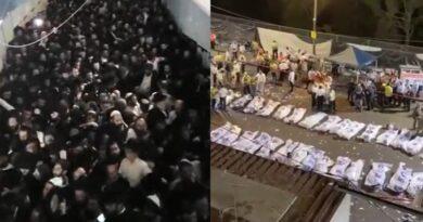 Mortos e feridos em tragédia em Meron