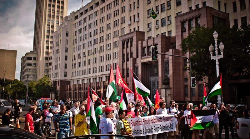 Brasil terá carreatas a favor da Palestina