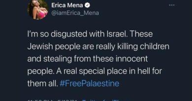 "judeus têm ""lugar especial no inferno"""