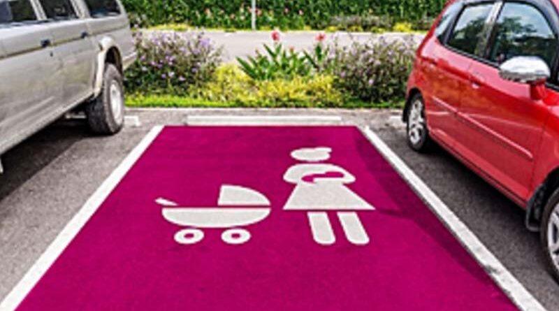 Estacionamentos para mulheres grávidas
