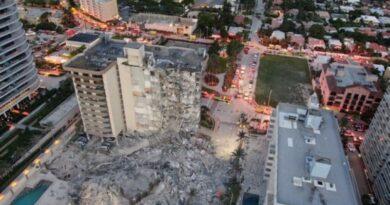 Judeus de Miami vítimas do desabamento