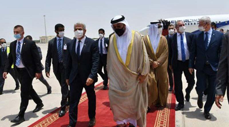 Lapid inaugura embaixada nos EAU
