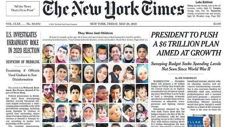 verdade sobre as vítimas infantis do Hamas