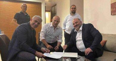"""Yair Lapid anuncia: """"Temos um governo"""""""