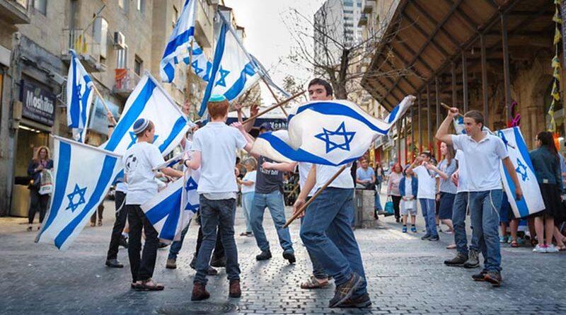 Marcha das Bandeiras sob presença policial