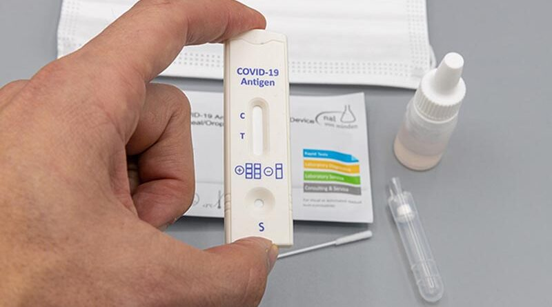 Kit de teste rápido de COVID