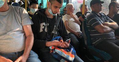 Sem máscaras e sem fiscalização nos ônibus
