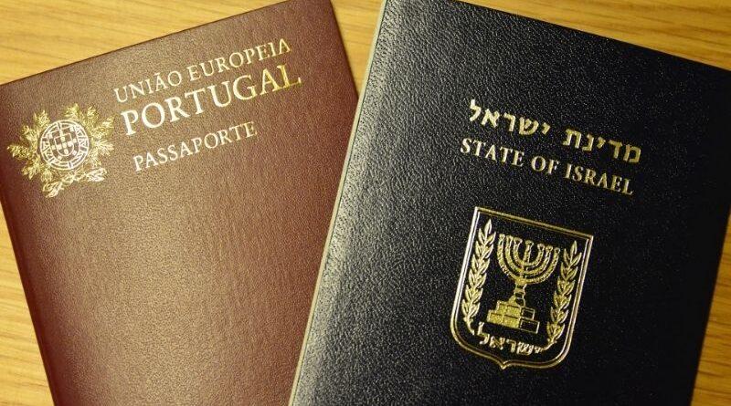 novos cidadãos de Portugal são israelenses