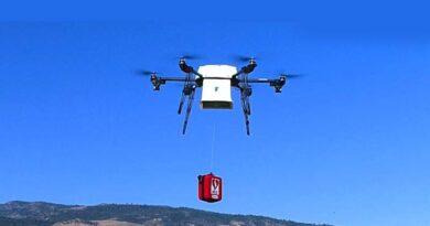 receber encomendas por drone