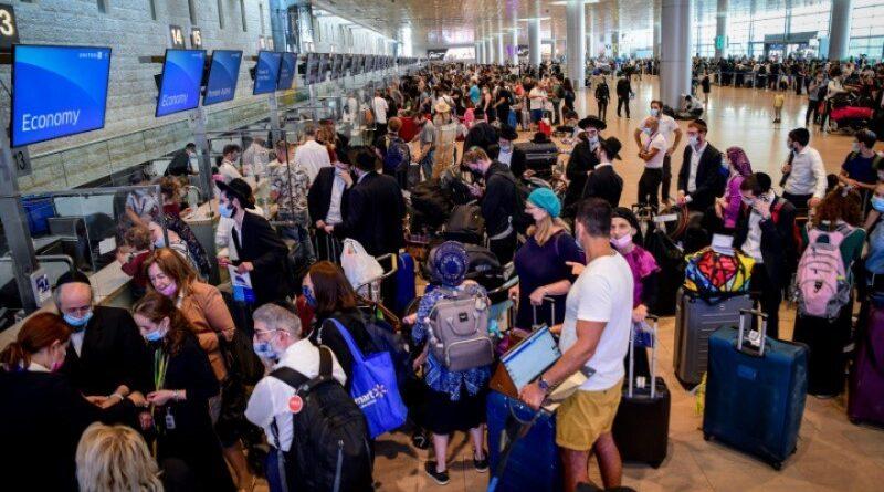 Passageiros perdem seus voos