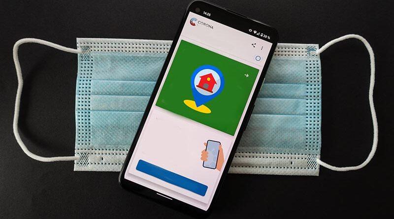 Monitoramento de quarentena via app