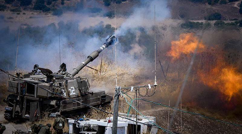 Hezbollah dispara 19 foguetes