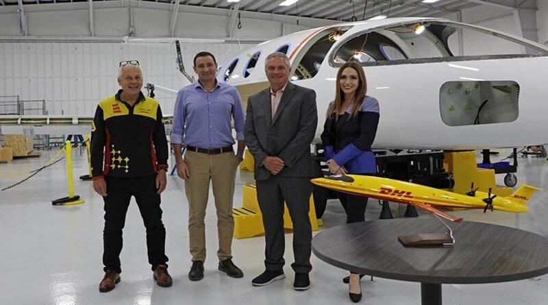 aviões elétricos para DHL