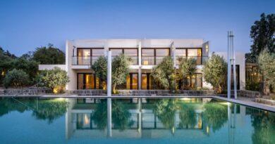 hotel de luxo nas Colinas de Golã